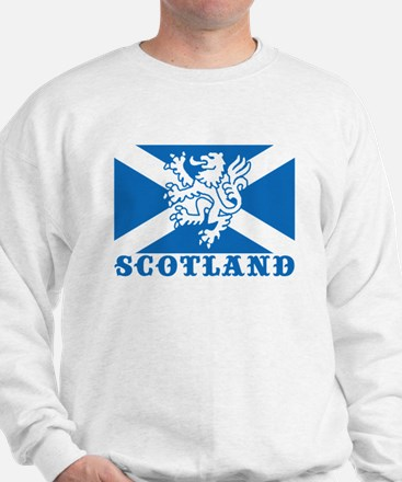 Flag of Scotland with Lion Jumper