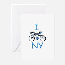 I Bike NY Greeting Cards (Pk of 10)