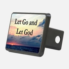 LET GO AND LET GOD Hitch Cover