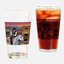 Wild West Gambler Drinking Glass
