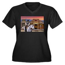 Wild West Gambler Plus Size T-Shirt