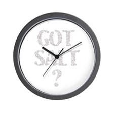 Got Salt? Wall Clock