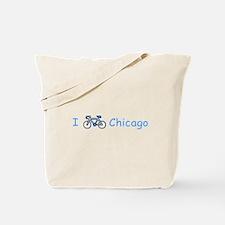 I Bike Chicago Tote Bag
