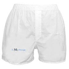 I Bike Chicago Boxer Shorts