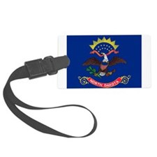 North Dakota State Flag Luggage Tag