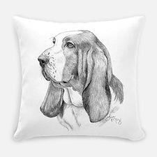 Basset Hound Everyday Pillow