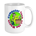 Computer tech Large Mug