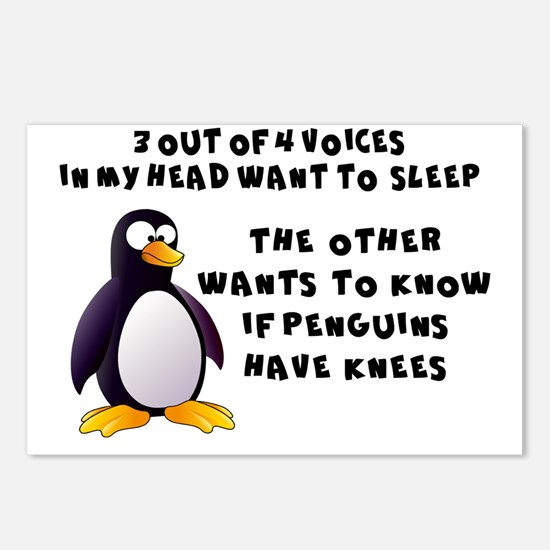 Cute Penguins Postcards (Package of 8)
