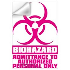 BIOHAZARD Wall Decal