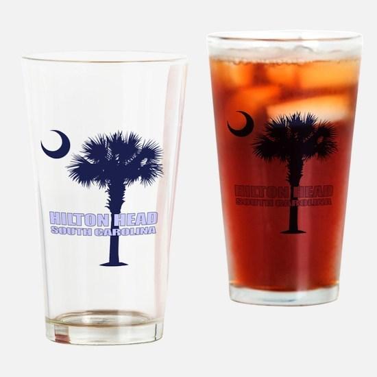 Hilton Head Drinking Glass