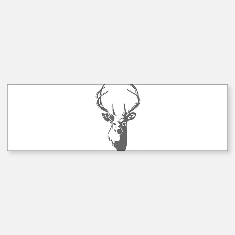 Deer Bumper Car Car Sticker