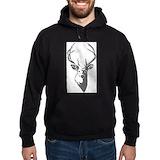 Deer Dark Hoodies