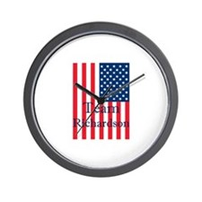 Unique Bill richardson for president Wall Clock