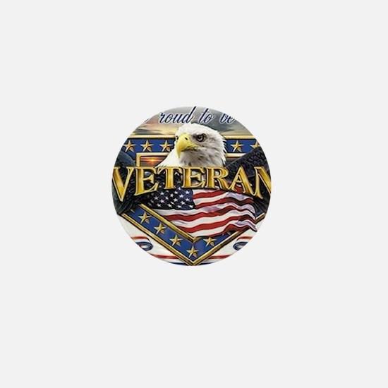 veteran Mini Button