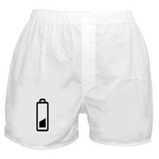 Low Battery Boxer Shorts