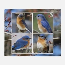 Unique Bird photos Throw Blanket