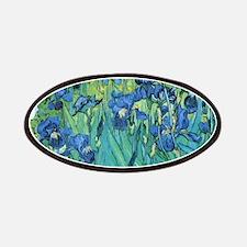 Van Gogh Garden Irises Patch