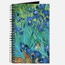 Van Gogh Garden Irises Journal