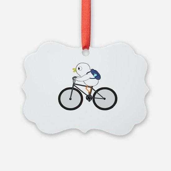 Biker Ornament