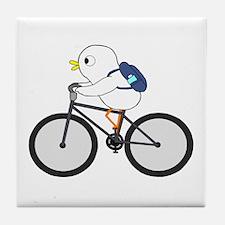 Biker Tile Coaster