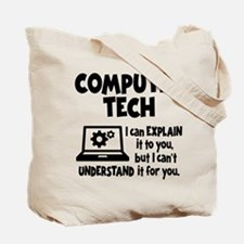 COMPUTER TECH (both sides) Tote Bag