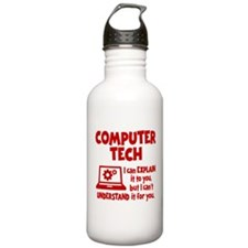 COMPUTER TECH Water Bottle