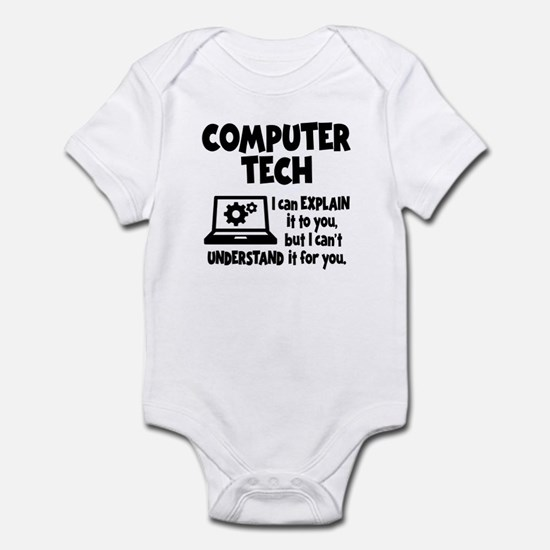 COMPUTER TECH Infant Bodysuit