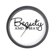 Beauty and a Beat Wall Clock