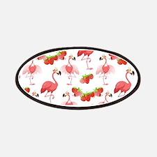 Strawberry Flamingos - Patch