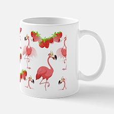 Strawberry Flamingos - Mug Mugs