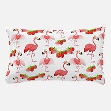 Strawberry Flamingos - Pillow Case