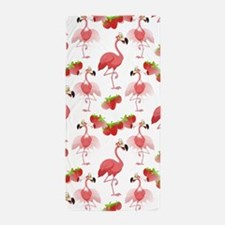 Strawberry Flamingos - Beach Towel