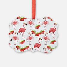 Strawberry Flamingos - Ornament