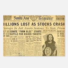 newspaper Postcards (Package of 8)