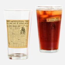 newspaper Drinking Glass
