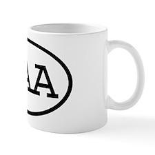GAA Oval Mug
