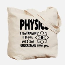PHYSICS (both sides) Tote Bag