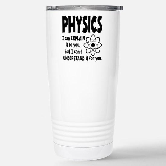 PHYSICS Stainless Steel Travel Mug