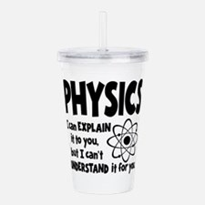 PHYSICS Acrylic Double-wall Tumbler
