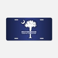 Hilton Head Aluminum License Plate