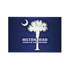 Hilton Head Rectangle Magnet