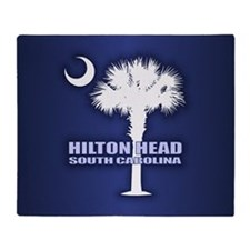 Hilton Head Throw Blanket