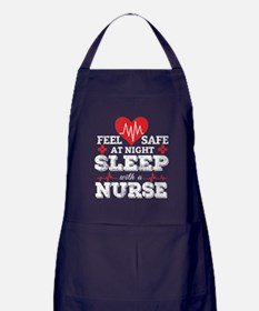 Feel Safe At Night, Sleep With A Nurs Apron (dark)