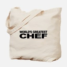 World's Greatest Chef Tote Bag