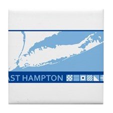 East Hampton - New York. Tile Coaster