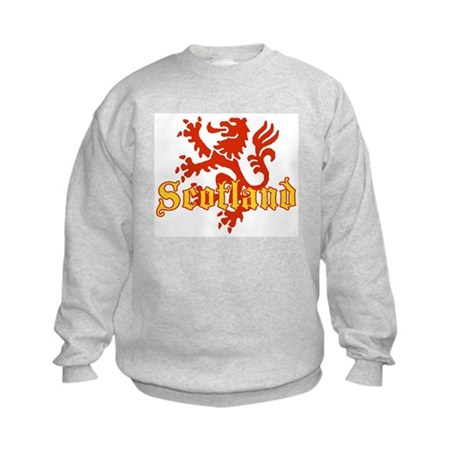 Scotland Lion Kids Sweatshirt