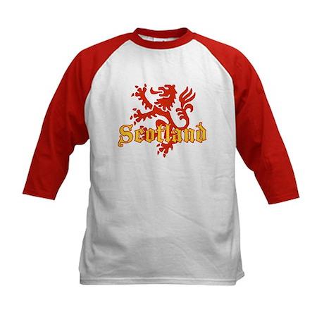 Scotland Lion Kids Baseball Jersey