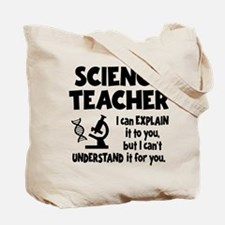 SCIENCE TEACHER (both sides) Tote Bag