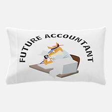 future accountant Pillow Case