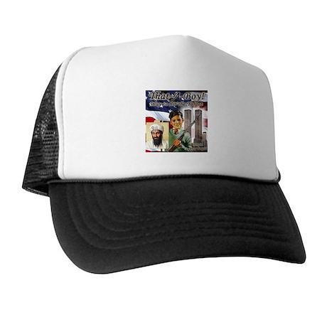 Osam Bin laden target anti te Trucker Hat